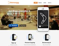 FileSharing Company Website Design