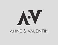 Rebranding Anne et Valentin