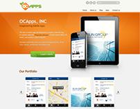 Mobile Apps Website Design