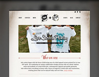 Ink + Cotton Website Redesign