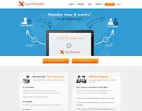 Event Planning Website Design