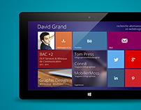 Modern UI CV