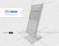 Nestle Touch Screen stand