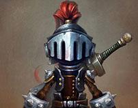 #Knight Model Maya.