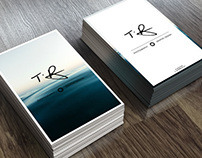 Personal Identity // Business Cards // Mock Ups