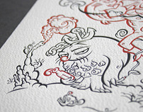 Alice Kok Letterpress Prints