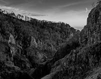 Cheddar Gorge (Black & White)