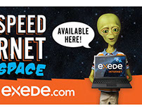 Exede Internet Out-of-Home Ads