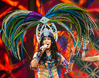Cher Performing in Indianapolis