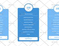 Price Hosting Table #1 (Blue)