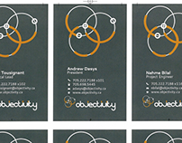 Branding | logo redesign & card design for Objectivity