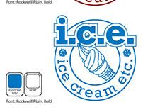 Logo Concepts for Ice Cream Etc. (I.C.E.)
