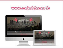 Website Design for www.Majestyhomes.in