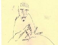Salomar vs His Possessed Goose-Hand