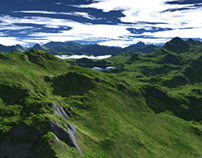 3D Terragen Project - University Project