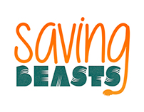Saving Beasts Logo Branding Project