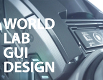 ''WORLD LAB ''gui design