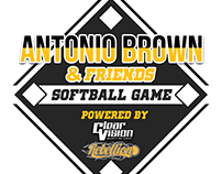 Antonio Brown Celebrity Softball Game