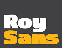 Roy Black - Humanist sans-serif