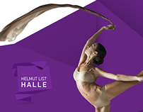 Helmut List Halle - Website