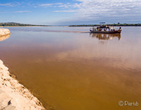 Along the Tsiribihina river, Madagascar