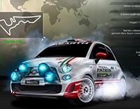 ESM FIAT Racing Deck Cover