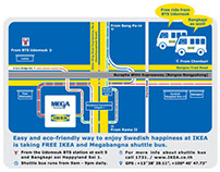 IKEA Thailand Map