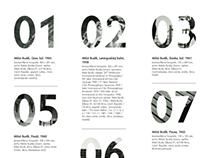 Milos Budik Calendar
