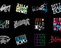 Billabong Lettering