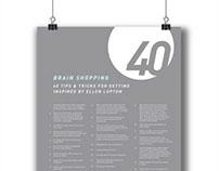 Brain Shopping: 40 Tips & Tricks for Getting Inspired