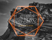 Biri Island Rock Formation