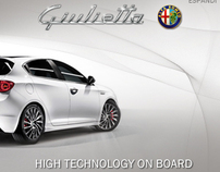 Alfa Giulietta - Digital Campaign technology
