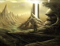 Planetary Invasion - Digital Concept Art
