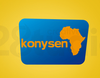 konysen website and identity design