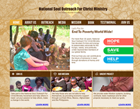 National Soul Outreach For Christ Ministry Website