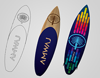 AMWAJ, Surfboards and paddle-boards designs.
