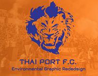 Thai Port FC Environmental Graphic Design
