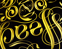 Head over heels - Ambigram Workshop Identity