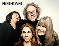"""Frightwig """"War On Women"""" / """"Hear What I Say"""" 7"""" vinyl"""