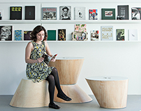 4 Cones | Wood modular benches and tables