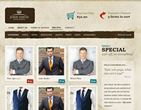 Customized Suits Online Website