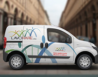 Graphic Wrapping Van - Lavorare Onlus