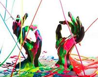 Painters Hands