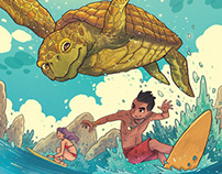 Ang I.N.K. Corner - Surf's Up!