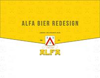 Alfa Bier Redesign
