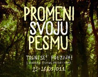 5th Belgrade Poetry and Book Festival, visual identity
