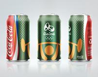 Coca-Cola Can Olympics Rio 2016