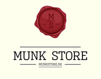 Munkstore.dk - redesign
