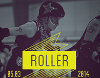 Roller Derby Poster 5.3.14