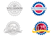 Williamson Logo Concepts — 125 years